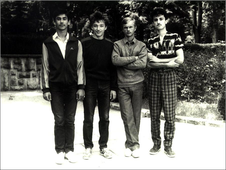 Рома Панайтеску, Слава Шорник - Кишинев, 1989 год