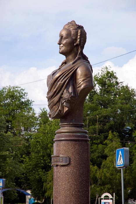 Памятник Екатерине II в Тирасполе