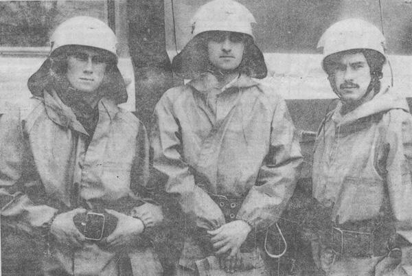 Пожарные из Рыбницы