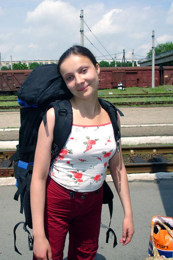 Полина отправляется в Москву