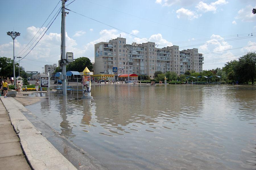 Наводнение в Тирасполе в июле-августе 2008 года (2)