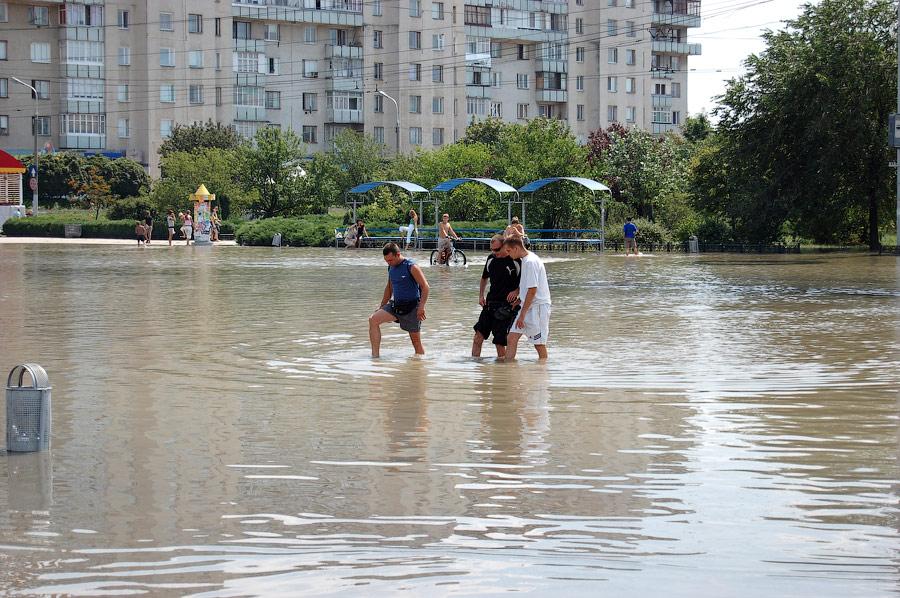 Наводнение в Тирасполе в июле-августе 2008 года (3)