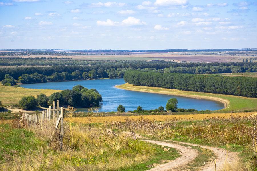 Приднестровье, где-то межу селами Бутор и Ташлык