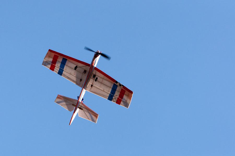 Авиамодели на Тираспольском аэродроме