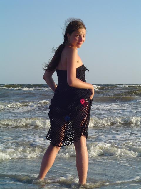 Полина и море