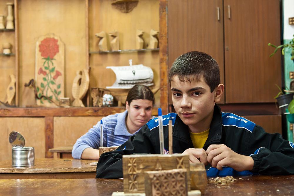 Школа-интернат для детей-сирот и детей, оставшихся без попечения родителей - село Глиное, Слободзейский район, Приднестровье (1)
