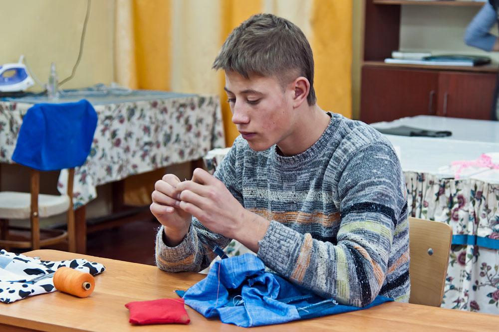 Школа-интернат для детей-сирот и детей, оставшихся без попечения родителей - село Глиное, Слободзейский район, Приднестровье (35)