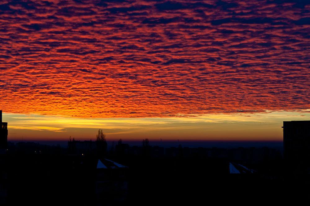 Утреннее небо Тирасполя (1)