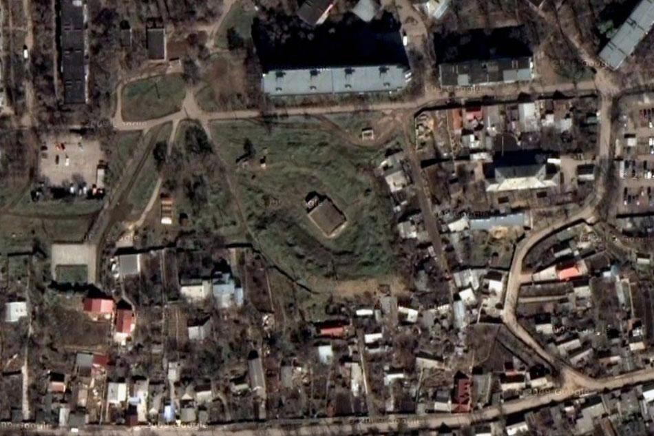 Тираспольская крепость (вид со спутника)