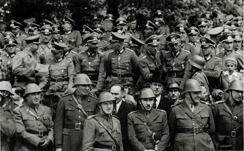 Румыны в Феодосии в 1941 году