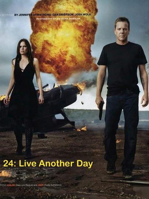"""Джек Бауэр возвращается в мае 2014 года в новом сериале """"24: Live Another Day"""""""