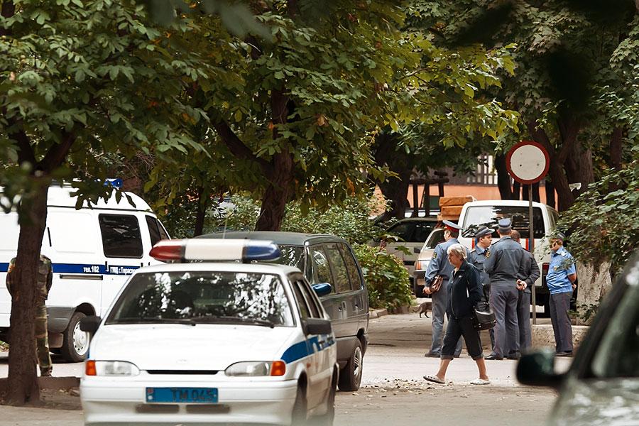 Очередное преступление в центре приднестровской столицы