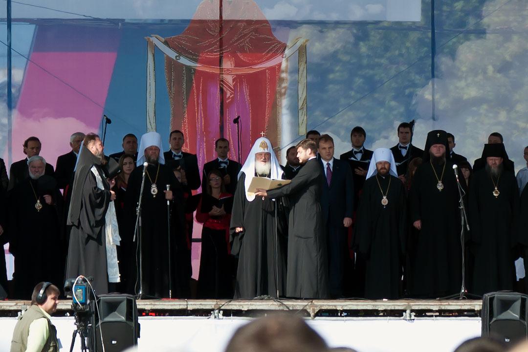 Патриарх Кирилл в Тирасполе (12)