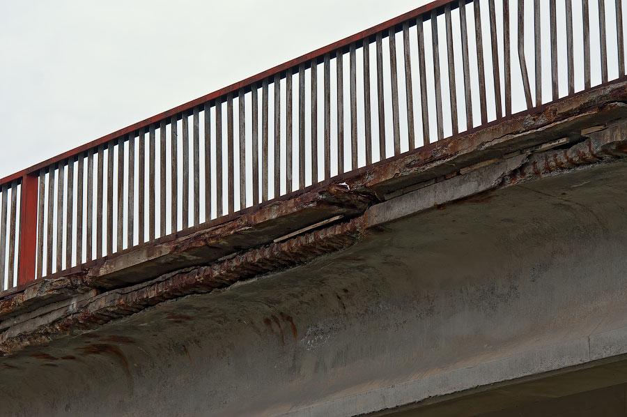 В Приднестровье рушится ещё один автомобильный мост (2)