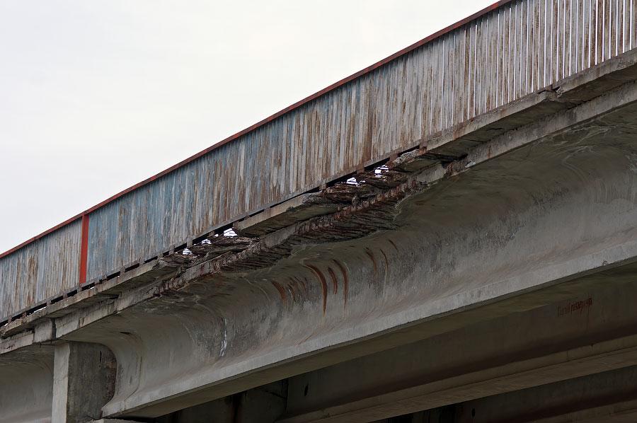 В Приднестровье рушится ещё один автомобильный мост (3)