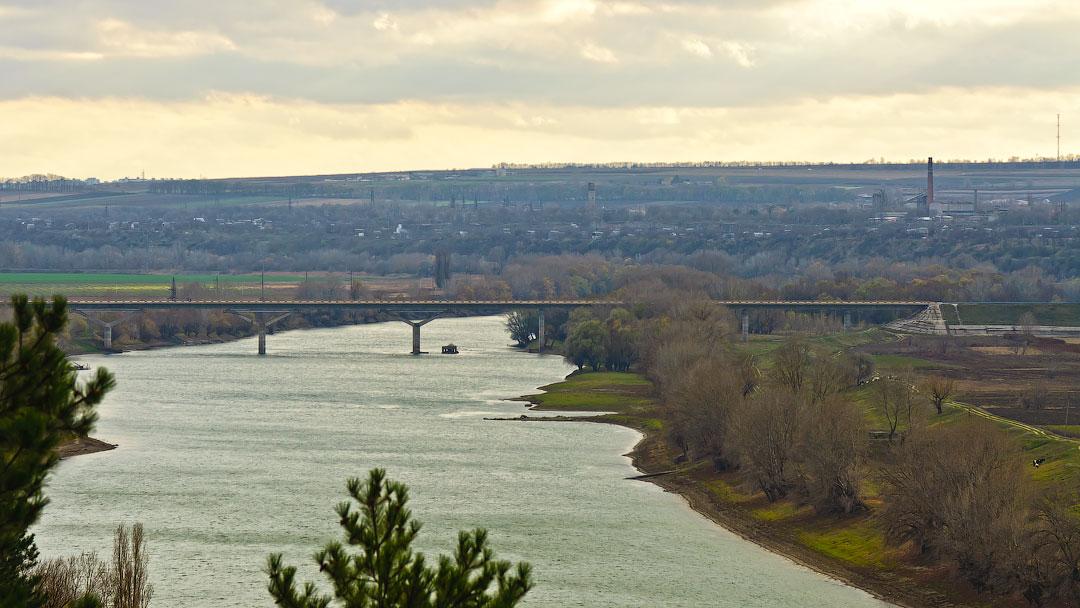 Село Бычок, река Днестр (6)