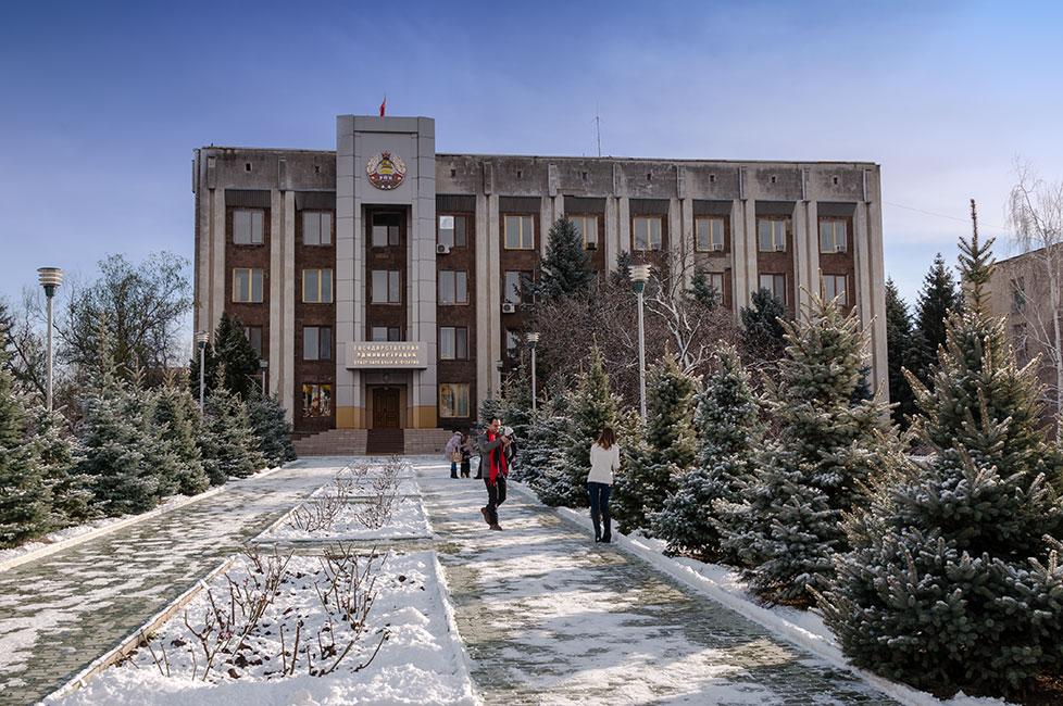 Первый снег в Приднестровье