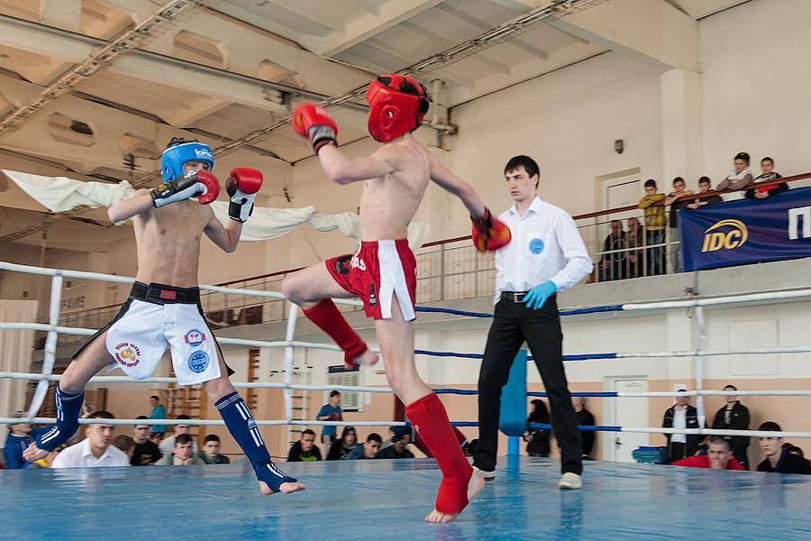 Соревнования по кикбосингу в Тирасполе