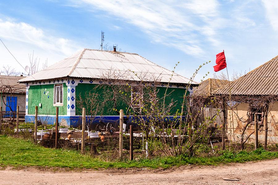 Дворик в селе Ивановка Рыбницкого района (Приднестровье)