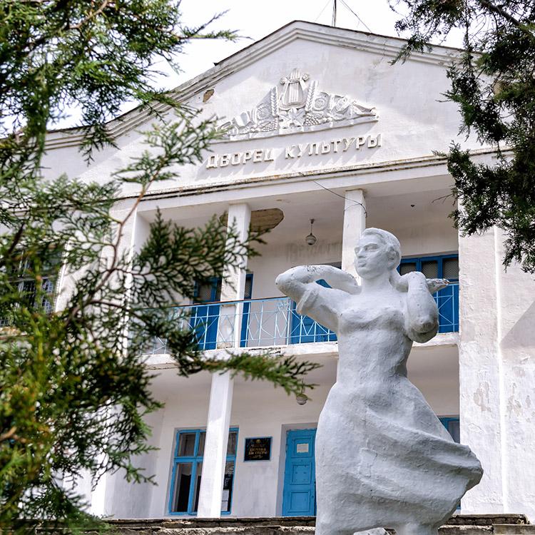 Дворец культуры в селе Красненькое Рыбницкого района (3)