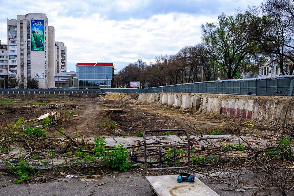 """В Тирасполе на месте """"стометровки"""" начинается строительство жилого дома"""