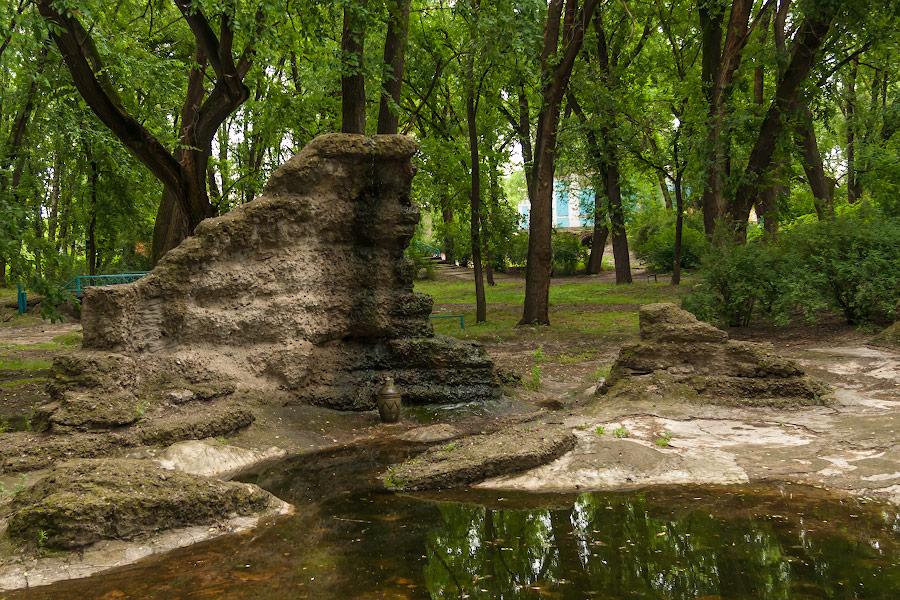 Парк имени в селе Чобручи (Приднестровье) (3)