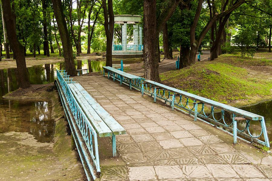 Парк имени в селе Чобручи (Приднестровье) (5)