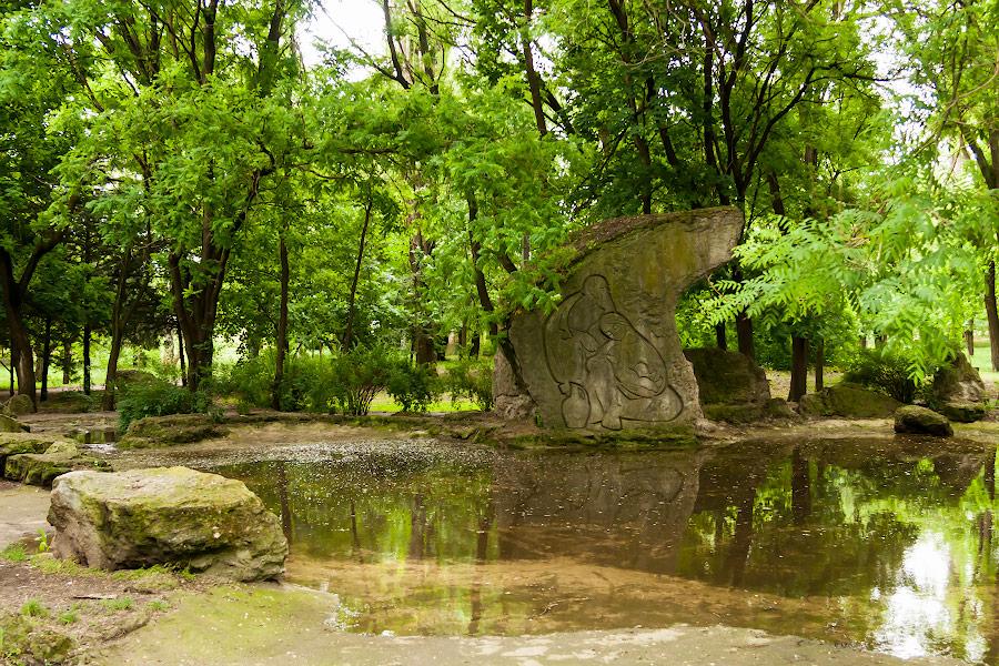Парк имени в селе Чобручи (Приднестровье) (6)
