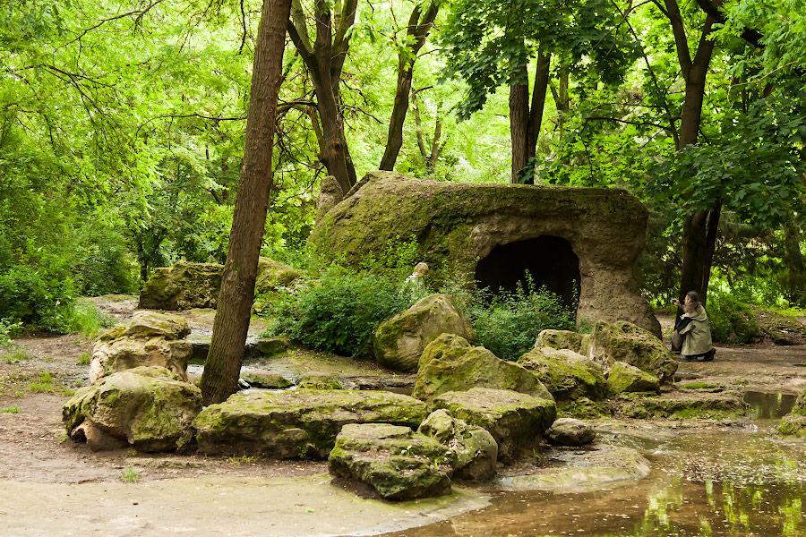 Парк имени в селе Чобручи (Приднестровье) (7)