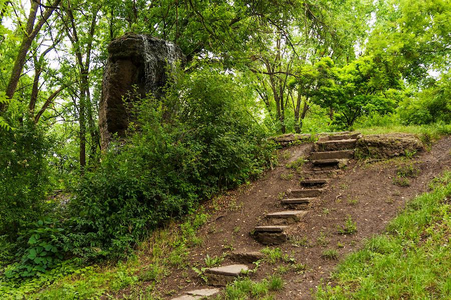 Парк имени в селе Чобручи (Приднестровье) (8)