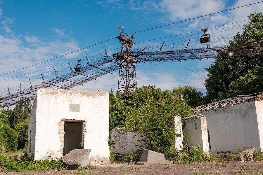 Подвесная канатная дорога Рыбница - Резина