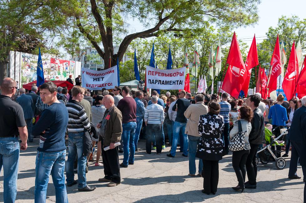 Коммунисты Приднестровья требуют перевыборов парламента