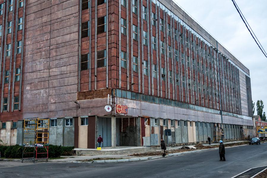 """Строительство супермаркета """"Фуршет"""" в Тирасполе"""