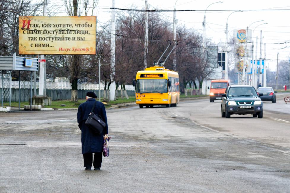 В ожидании маршрутки - Тирасполь