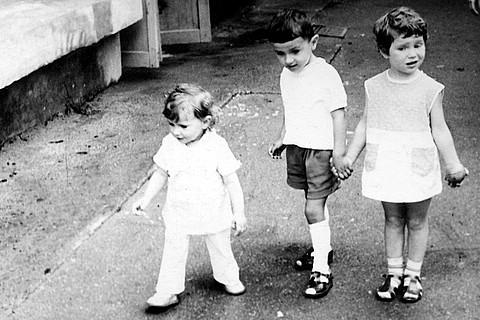 Бес Араб в детстве