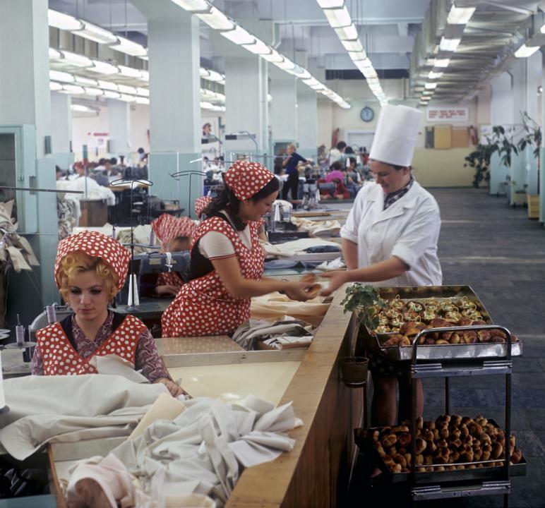 Швейная фабрика - Тирасполь, 1975 г.