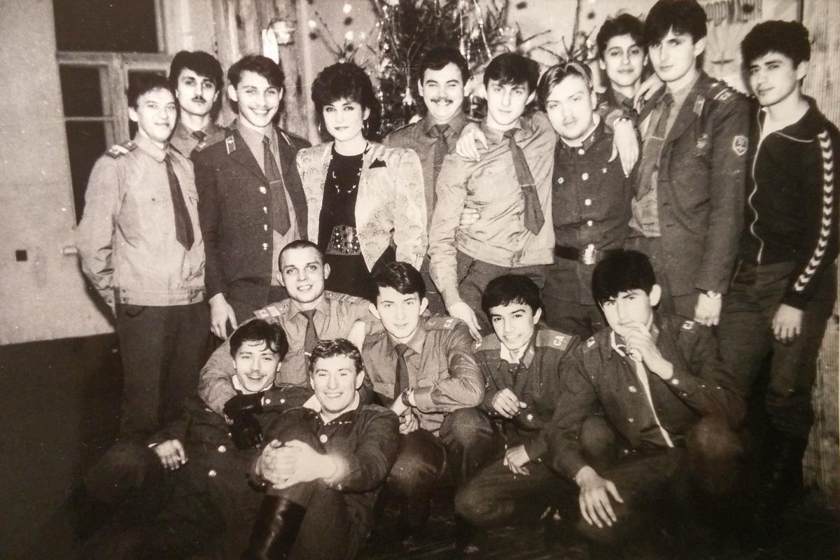 Новый Год в Советской Армии