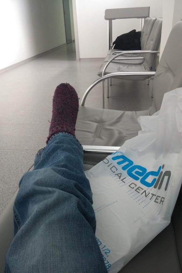 """Моя правая нога в медцентре """"Медин"""" (Тирасполь)"""