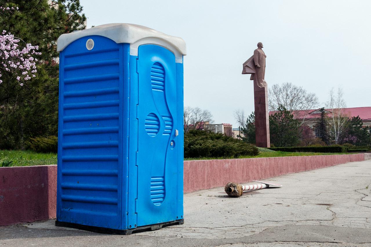 памятник Ленину в Тирасполе
